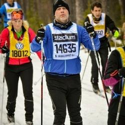 Skiing 90 km - Niklas Hedin (14635)