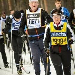 Skiing 90 km - Inge Johansson (11671), Claudia Haack (18984)