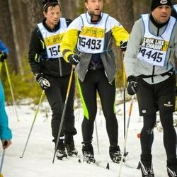 Skiing 90 km - Lasse Rasmussen (14445), Christian Möller Madsen (15493)
