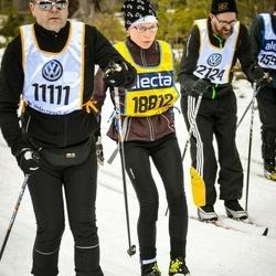 Skiing 90 km - Fredrik Lindström (11111), Malin Karlsson (18812)
