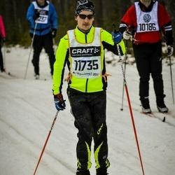 Skiing 90 km - Jonathan Lundblad (11735)