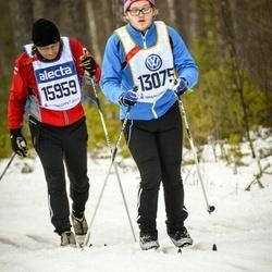 Skiing 90 km - Carl Thiringer (13075), Torbjörn Thiringer (15959)