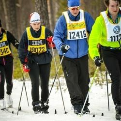 Skiing 90 km - Anders Vikström (12146), Maria Jörgensen (19072)