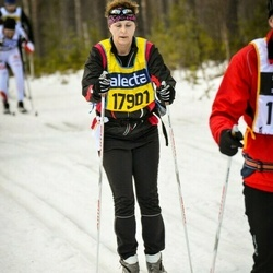 Skiing 90 km - Jeanette Andersson (17901)