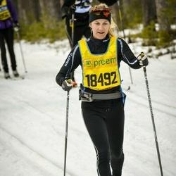 Skiing 90 km - Mikaela Engwall (18492)