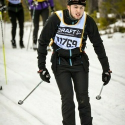 Skiing 90 km - Henrik Ahnesjö (11769)