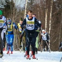 Skiing 90 km - Johnny Nordman (3749)