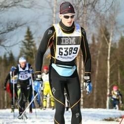 Skiing 90 km - Erik Hansson (6389)