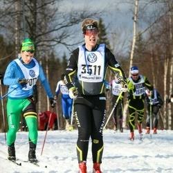Skiing 90 km - Tuomas Turunen (3511)
