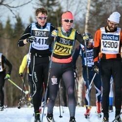 Skiing 90 km - Jennifer Friman (17221)