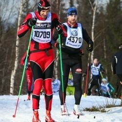 Skiing 90 km - Joakim Claesson (4370), Denis Salati (10709)