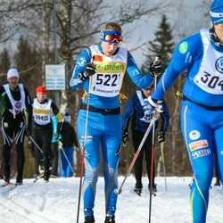 Skiing 90 km - Christian Johansson (5221)