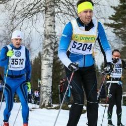 Skiing 90 km - Henrik Fehn (5204)