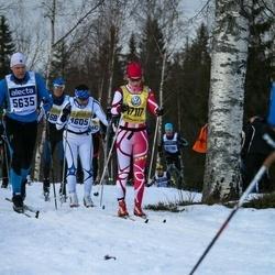 Skiing 90 km - Kalle Uiboleht (5635), Camilla Persson (17117)