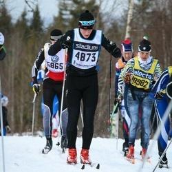 Skiing 90 km - Henrik Nökleby (4873)