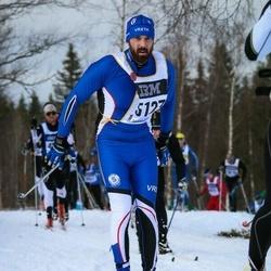Skiing 90 km - Fredrik Sylvan (5123)