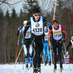 Skiing 90 km - Christer Erstadius (4320)