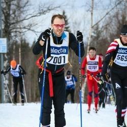 Skiing 90 km - Henrik Näslund (7001)