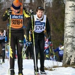 Skiing 90 km - Adam Stenman (5764), Kjell Martinsson (30184)