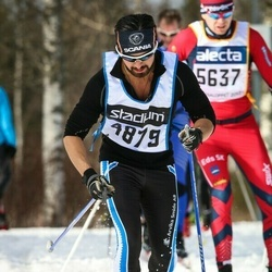 Skiing 90 km - Fredrik Lank (4879)