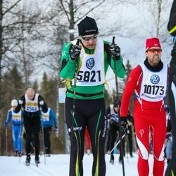 Skiing 90 km - Roger Runebrant (5821)