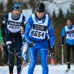 Skiing 90 km - Lennart Olsson (3654)