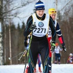 Skiing 90 km - Jonas Lind (7271)