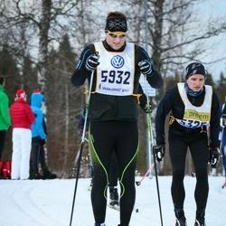 Skiing 90 km - Thomas Essén (5325), David Nilsson (5932)