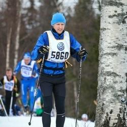 Skiing 90 km - Johan Håkansson (5860)