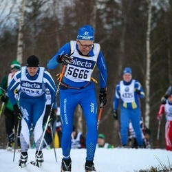 Skiing 90 km - Tomas Hidman (5666)