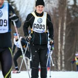 Skiing 90 km - Johannes Nyberg (6009)