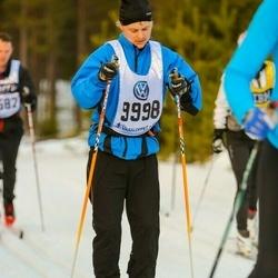 Skiing 90 km - Daniel Lundgren (9998)