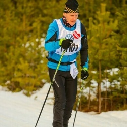Skiing 90 km - Henrik Wessman (14101)