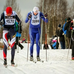 Skiing 90 km - Markus Hedlund (3088), Martin Michalek (4576)