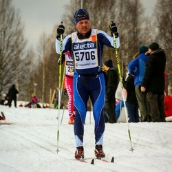 Skiing 90 km - Erik Mattson (5706)