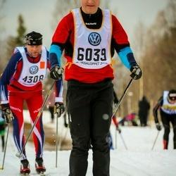 Skiing 90 km - David Näsvall (6039)