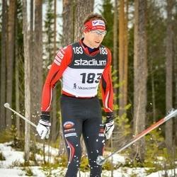 Skiing 90 km - Anders Zeffer (183)
