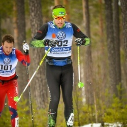 Skiing 90 km - David Berg (102)