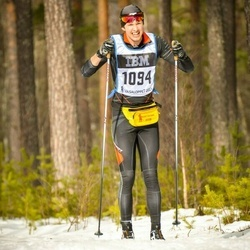 Skiing 90 km - Albin Andersson (1094)
