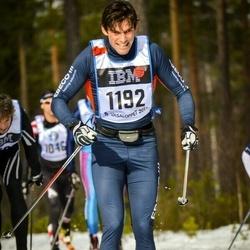 Skiing 90 km - Kristian Larsson (1192)