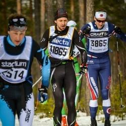 Skiing 90 km - Henrik Sandén (3865), Anders Eriksson (11865)
