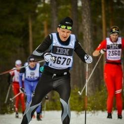 Skiing 90 km - Arne-Vidar Hellefossmo (3670)