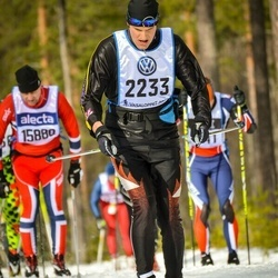 Skiing 90 km - Jann Ehrensperger (2233)