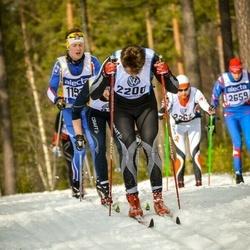 Skiing 90 km - Christian Bøhmer (2200)
