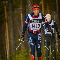 Skiing 90 km - Anders Boström (1419)