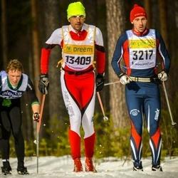 Skiing 90 km - Erik Lundell (3217), Asbjørn Moen (13049)