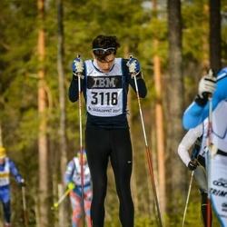 Skiing 90 km - Henrik Andersson (3118)