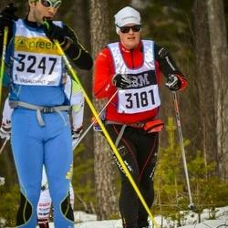Skiing 90 km - Henrik Johansson (3181)