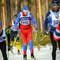 Skiing 90 km - Andreas Grahn (3440)