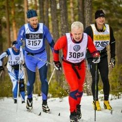 Skiing 90 km - Björn Kåre Gjerde (3085), Olle Düring (3157)